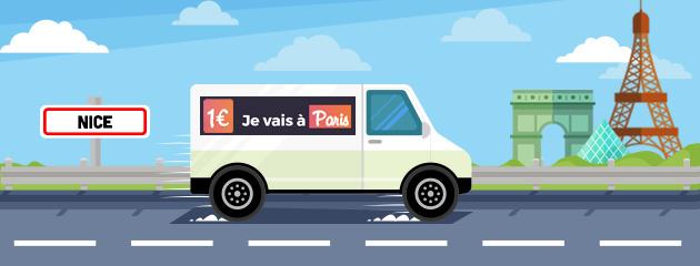 Nice-Paris à 1€