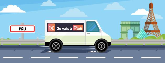 Pau-Paris à 1€