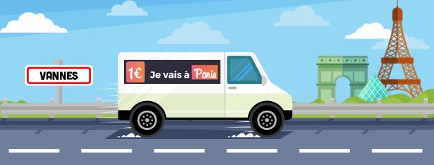 Vannes-Paris à 1€